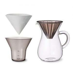 KINTO OFFEE CARAFE SET 600ML PLASTIC BREWER